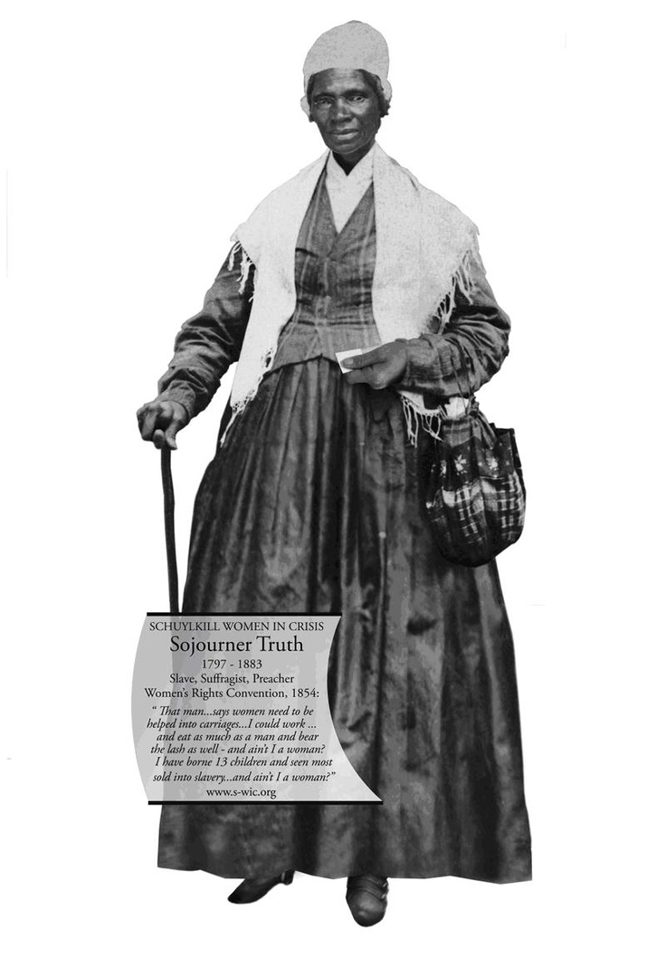 sojourner truth a women s rights activist Abolitionist, slave, activist, women's rights advocate a life journey to free other  slaves, a fight for african-american's rights to land ownership,.