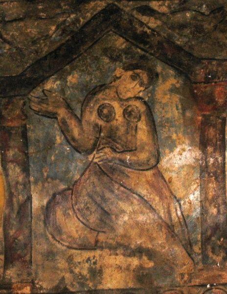 Jordan Qasr Amra. Fresco Paintings