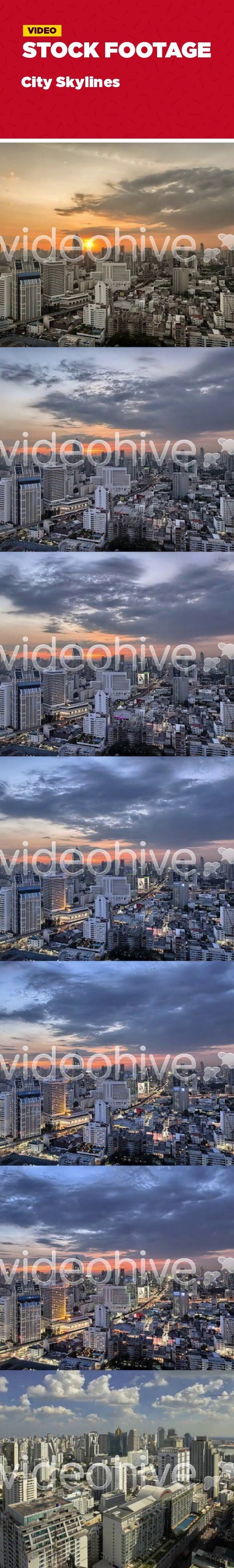 architecture, buildings, business, car, colors, corporate, day, downtown, modern, night, skyscraper, street, sunset, timelapse, urban Clip Details  2 Clips included Format: Full HD 1920×1080 FPS: 24Original Frame Format: 3 Raw into HDRVideo Codec: Photo JpegLocation: Bangkok Thailand Shooting Date: October 2012 Source: Canon 5D Mark II   Have a look at these similar clips from my Portfolio!  	                                                      Ideal for  	asia building business color…