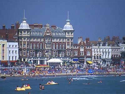 Weymouth, a seaside town in Dorset, developed from the mid 12th century onwards, but was not noted until the 13th century.