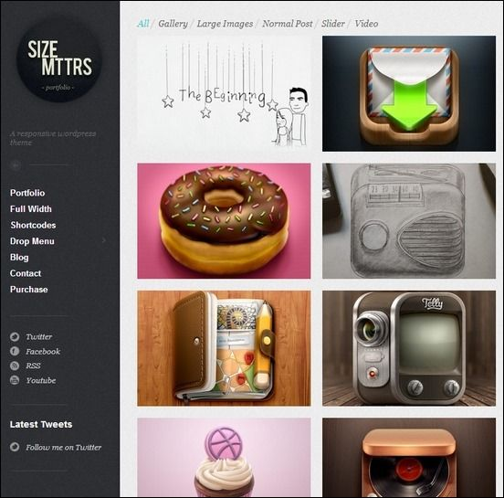 71 best Templates & themes (wordpress tumblr...) images on Pinterest ...