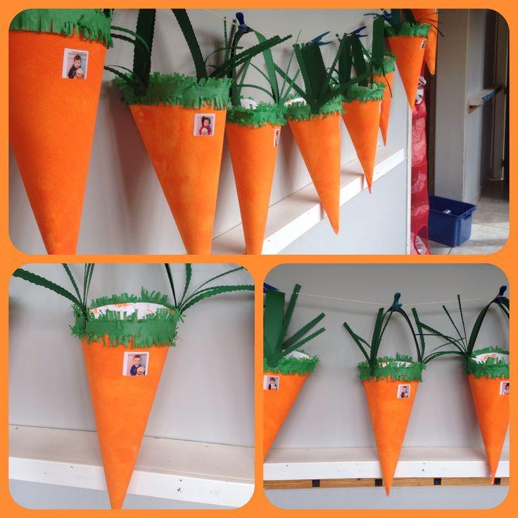 Paasmandjes: kls op verschillende manieren laten oranje maken