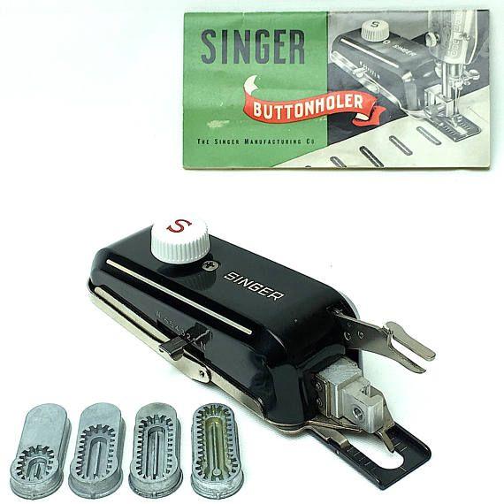 Singer Simanco 160506 Buttonholer Attachment Low Shank 201