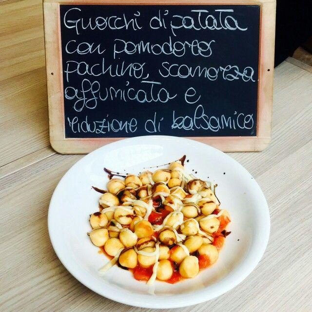 #piattodelgiorno #gnocchi #lunch ##spaziodonizetti