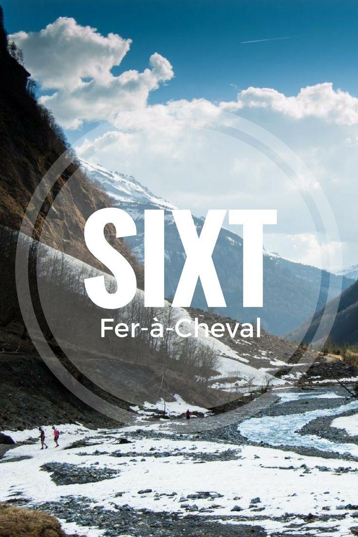 Retour sur ma découverte du Cirque de Sixt Fer à Cheval, entre cascades d'eau fraîche et cascades dans la neige.