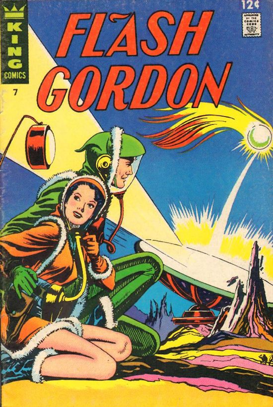 Flash Gordon Comic Book #7 Publisher: King Comics Date: August 1967