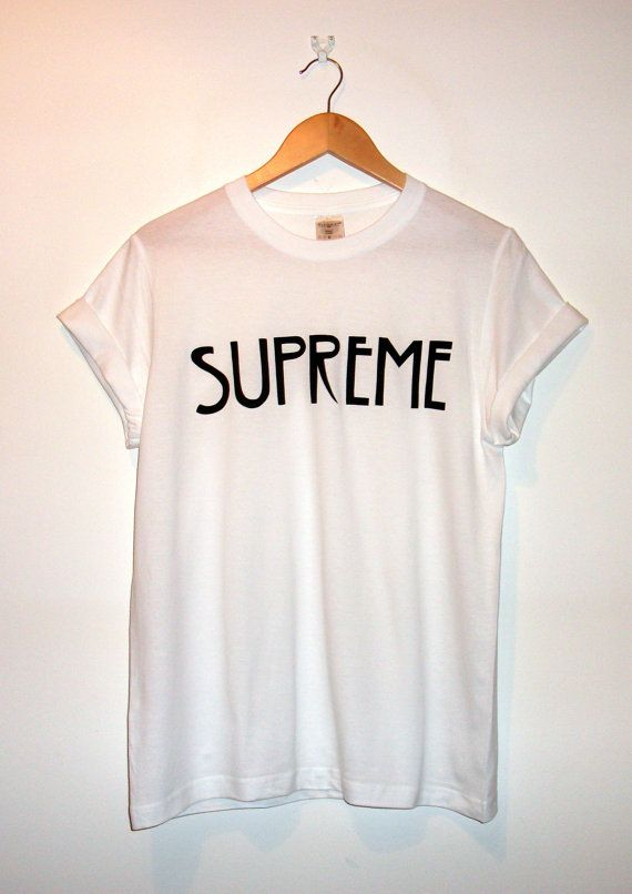 American Horror Story Inspired 'Supreme' T-Shirt on Etsy, £10.00