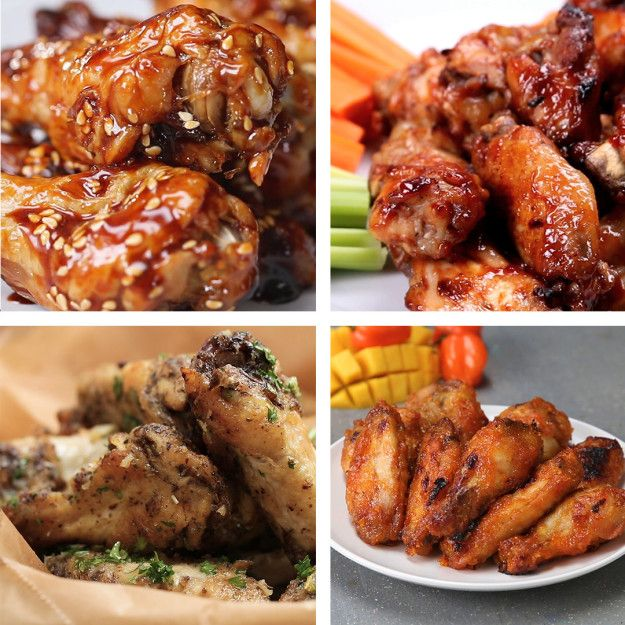Chicken Wings 7 Ways | Learn How To Make Chicken Wings 7 Different Ways