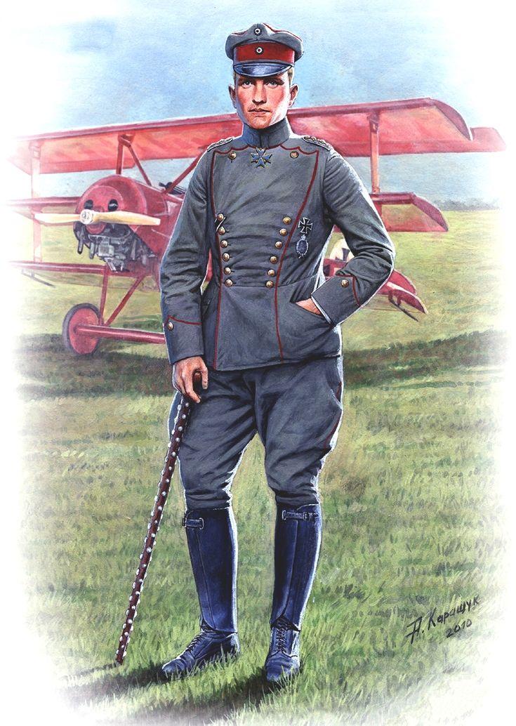 Fokker Dr.I, el Triplano del Barón Rojo, Manfred von Richthofen, as de la 1ª Guerra Mundial
