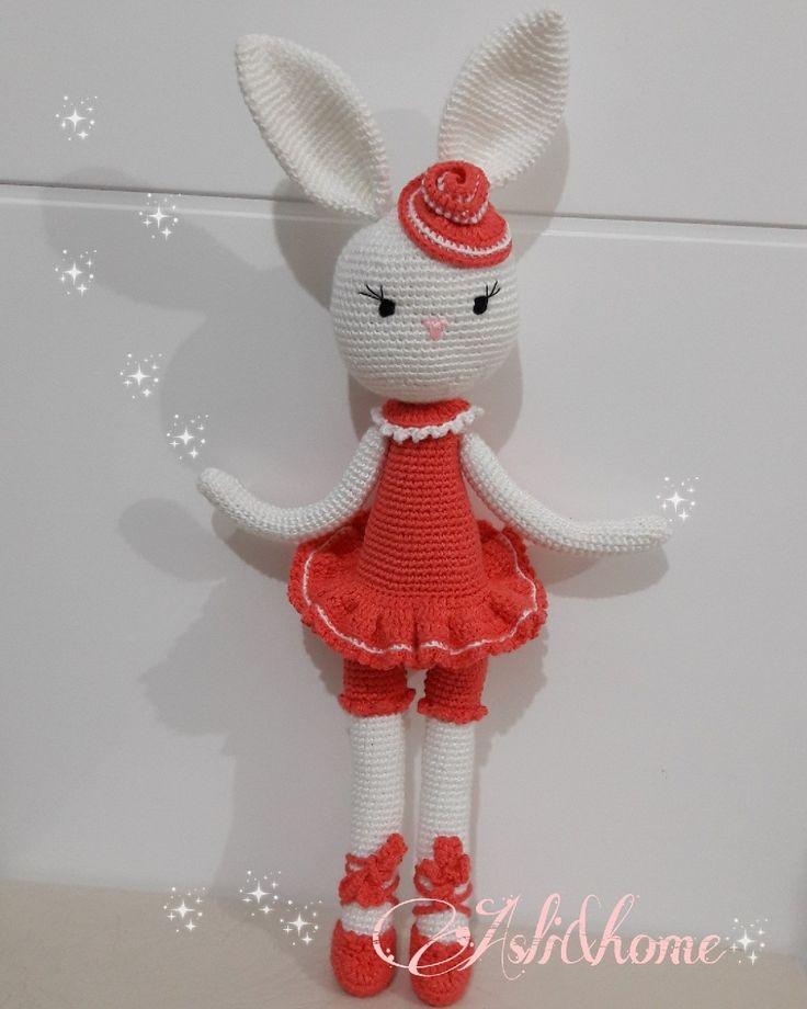 Sevimli balerin tavşan 💟🐰💟🌸🌸🌸🌸🌸🌸🌸🌸🌸🌸            instegram @aslihome