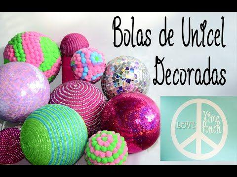 The 25 best como hacer esferas navide as ideas on - Como hacer decoraciones navidenas ...