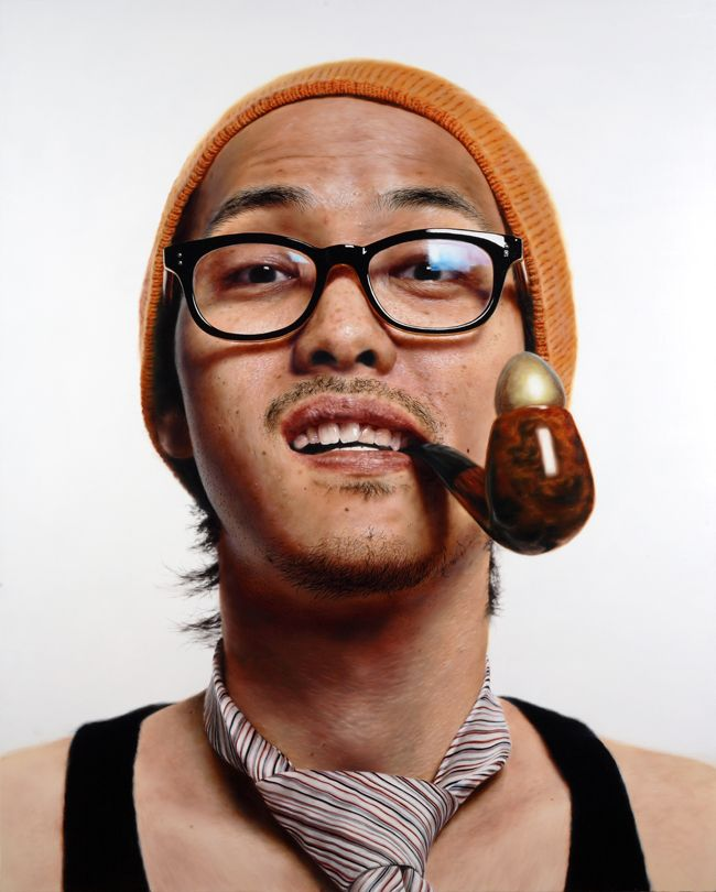 Artist Roberto Bernardi Creates Incredibly Realistic: Super Realistic Painting By Kang Kang-hoon