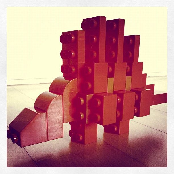 Duplo Stegosaurus from imaginationcostsnothing. Reuse your existing bricks and save $15.00