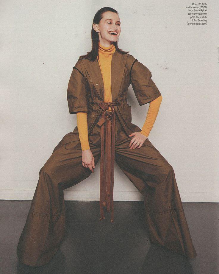 Our Merino roll neck Catkin featured in Stylist Magazine