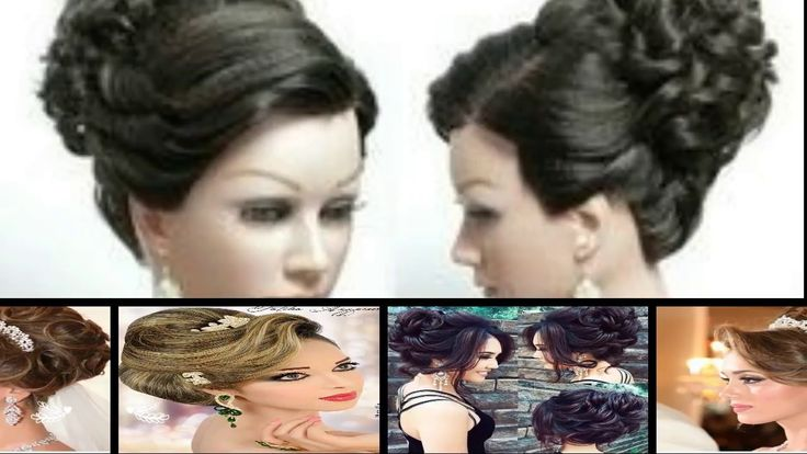 Bridal hairstyle.Bridal HIGH BUN Hairstyle bridal hairstyle for long hai...