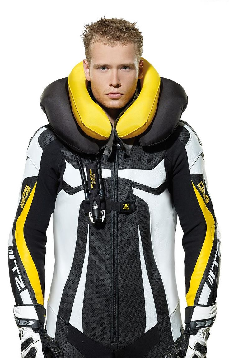 Neck DPS Airbag Leather Wind Suit Mens suits, Suits, Leather