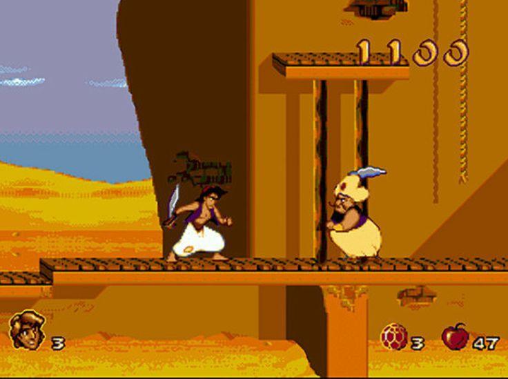Good old Aladin game :)