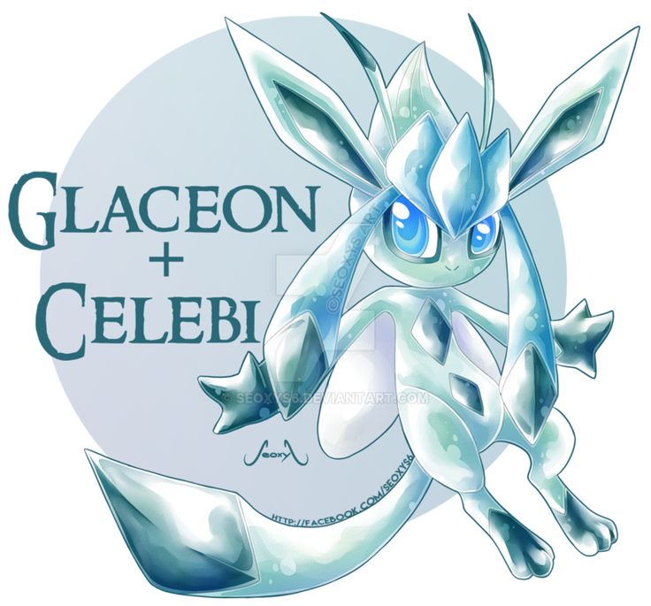 [Adopt] Celebi X Glaceon [open] by Seoxys6