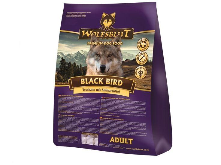 #Black #Bird #Adult ist ein getreidefreies #Hundefutter für ausgewachsene Hunde mit Truthahn und Süßkartoffeln. Auch für Allergiker und allergiegefährdete Hunde geeignet.