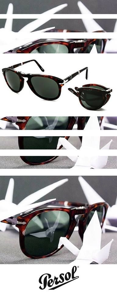 Stylish and cool folding Persol sunglasses - perfect summer accessory http://www.smartbuyglasses.com/designer-sunglasses/Persol/Persol-PO0714-Folding-24/31-15835.html