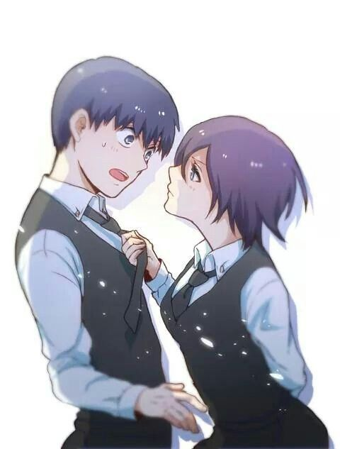 kaneki and touka relationship