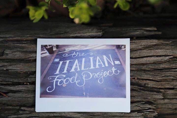 #theitalianfoodproject