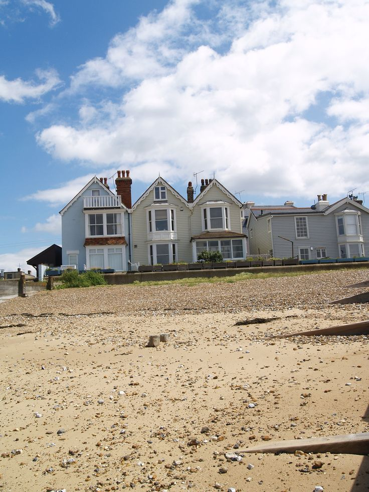 Houses on the beach front at Whitstable , Kent [shared]   by Simon Bolton UK