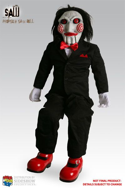 Saw Jigsaw Puppet Vinyl Collectible   Sideshow ...