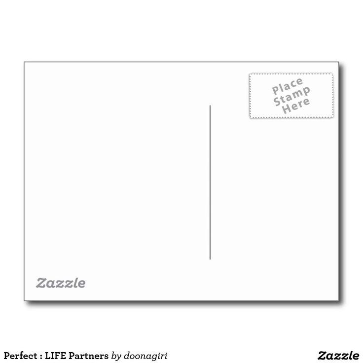 Perfect : LIFE Partners Postcard