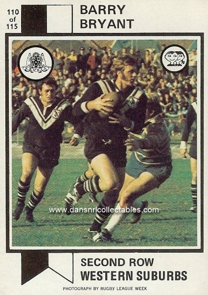 1974 110 Wests Magpies