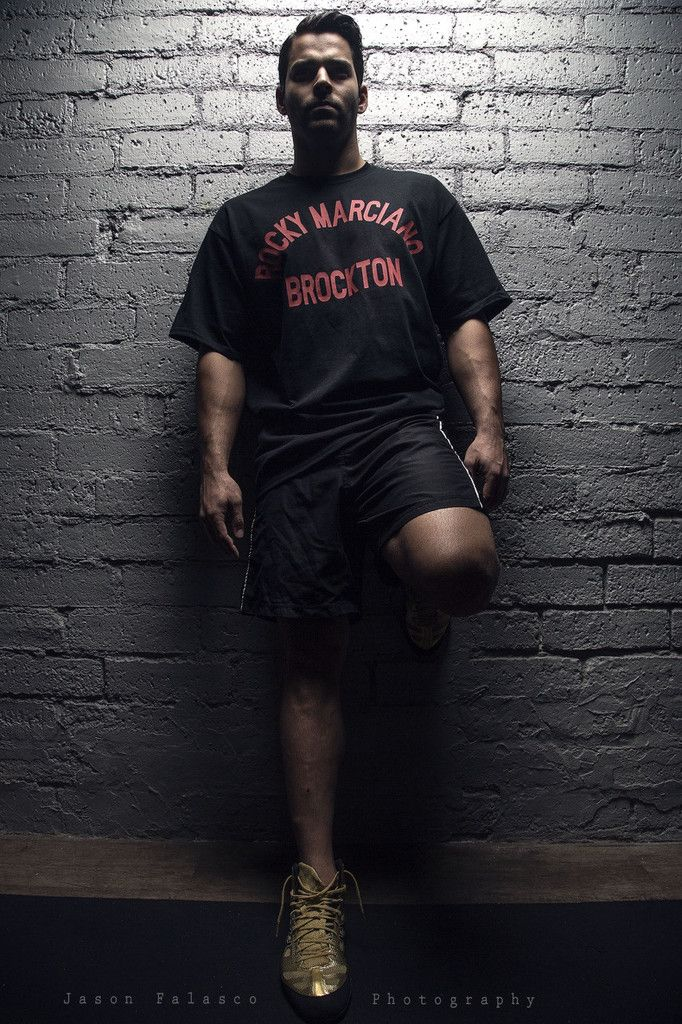 Rumble Bros™ Legends and Icons Rocky Marciano™ Brockton Tee