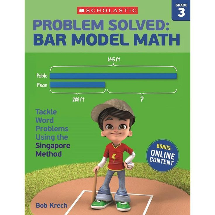 Problem Solved Bar Model Math Gr 3 Škola