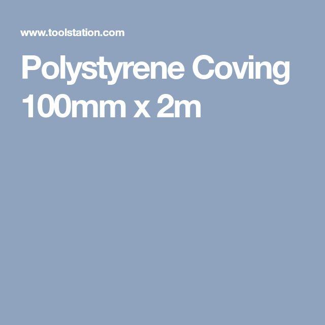 Polystyrene Coving 100mm x 2m