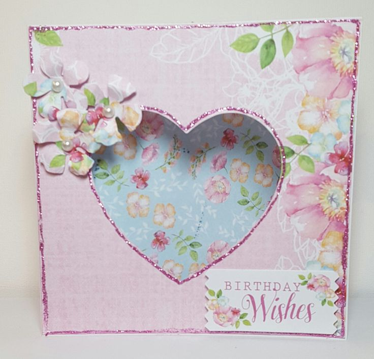 Designed by Jennifer Kray for Craftwork Cards using Boutique Floral Collection.