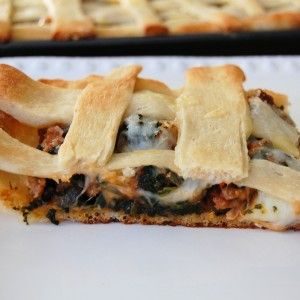 Southern Pizza Slab Pie