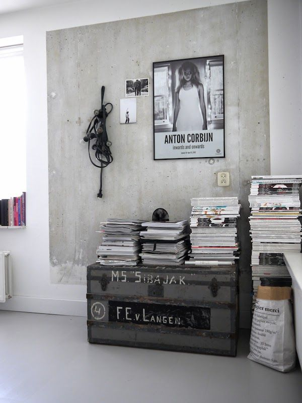 17 best images about concrete interior style inspiration on pinterest home interior design. Black Bedroom Furniture Sets. Home Design Ideas