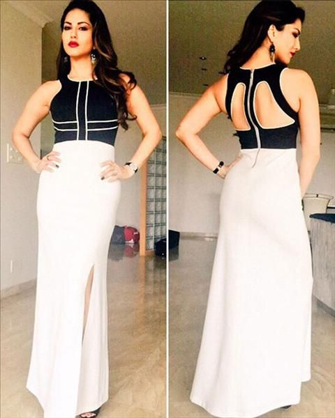 Here's how you nail a monochrome look of sunny leone!