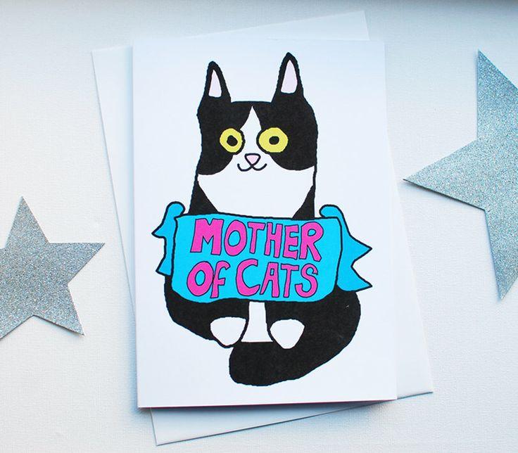 Madre di giorno carta - cartoline divertenti di festa della mamma del tuxedo cat - carta dal gatto per la mamma - - bianco e nero gatto di gatti madre di PrintsOfHeart su Etsy https://www.etsy.com/it/listing/513960681/madre-di-giorno-carta-cartoline