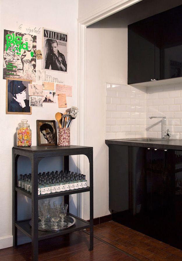 A Paris studio apartment by The New DesignProject - desire to inspire - desiretoinspire.net