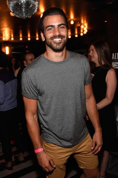 Nyle DiMarco attends the celebration of Nick Jonas' collaboration with Altec Lansing at Up&Down in New York City.