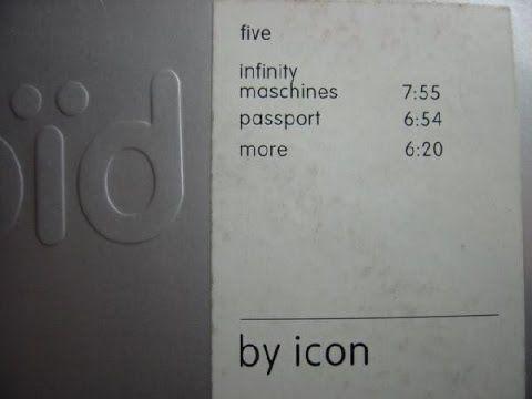 [monoid005] Icon - Infinity Maschines (1997)