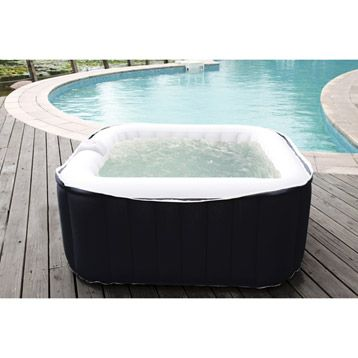 Spa gonflable carr� SUNBAY, 2 places