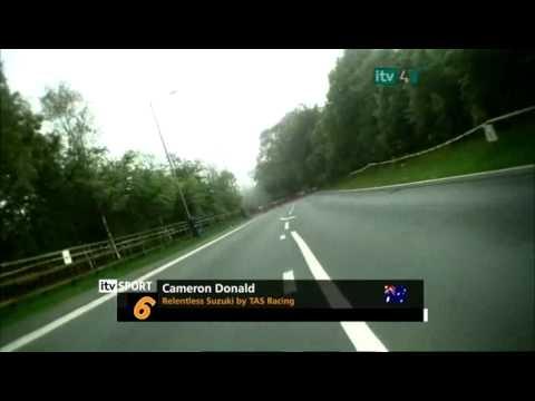 Isle of Man TT 2010 - FULL Superbike Race ITV4 pt.1