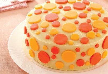 Rainbow Cake Facon Cheese Cake