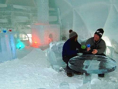 So now there's an Ice Hotel in Hokkaido, Japan, Sweden, Canada, and Germany is working on one. Overkill?