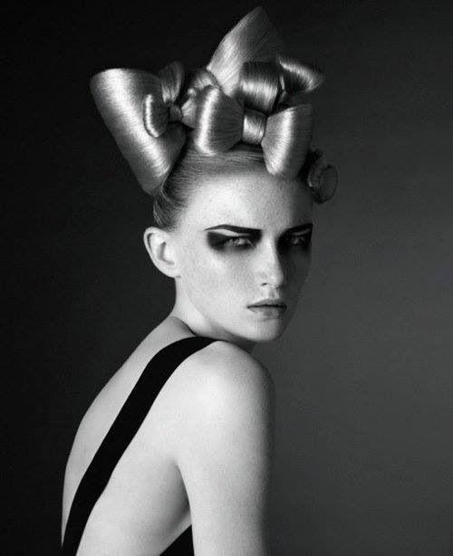 Institute magazine editorial hair