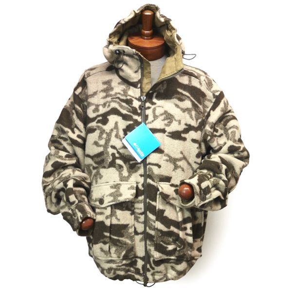 Columbia Monarch Pass Jacket コロンビア カモフラージュ フィールドパーカー メルトンジャケット【$160】 [001]