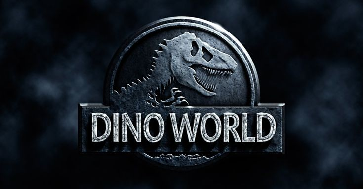 Photoshop tutorial on creating the Jurassic World movie poster.