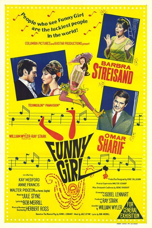 Funny Girl (1968)  Barbra Streisand - Best Actress Oscar 1968