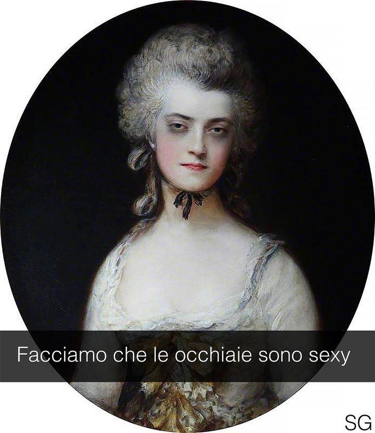 Mary Darby - Thomas Gainsborough (1781)  #seiquadripotesseroparlare  #stefanoguerrera